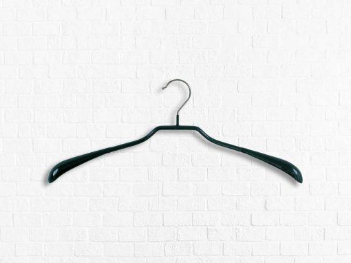 Schulterformbügel mit breiten Schultern aus Metall