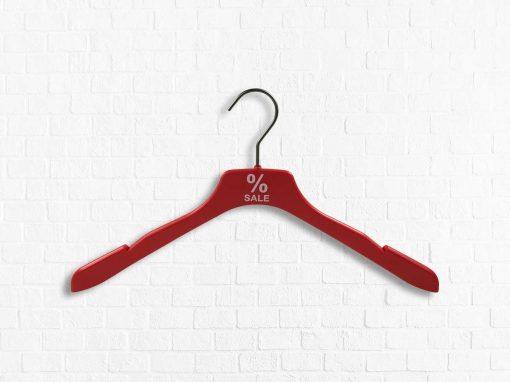 Shirtbügel aus Kunststoff